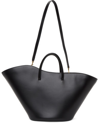 Little Liffner Black Large Open Tulip Tote