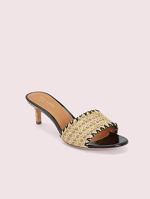 Kate Spade Seberg Raffia Slide Sandals