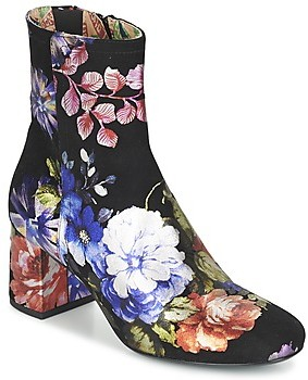 Miss L Fire Miss L'Fire JEAN women's Low Ankle Boots in Multicolour