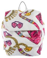 Moschino 2015 Fantasy Terry Cloth Backpack