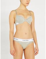 Calvin Klein Modern stretch-cotton T-shirt bra