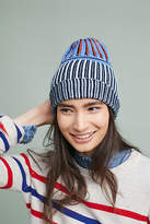 Anthropologie Happy Striped Beanie