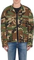 "R 13 Men's ""Misfits"" Camouflage Cotton Twill Field Jacket"
