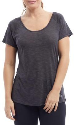 Bally Total Fitness Women's Active Fluid Short Sleeve T-Shirt