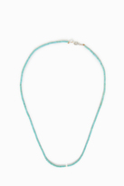JESSIE WESTERN Large Turquoise Strand Necklace