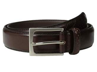 Florsheim Full Grain Leather Belt with Wing Tip Style Tail 32mm