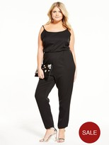 Alice & You Strappy Jumpsuit - Black