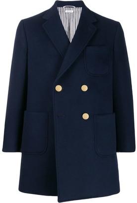 Thom Browne Military Sack overcoat