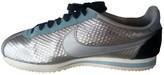 Nike Cortez Metallic Leather Trainers