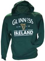 Guinness Pullover Hoodie With Logo & Ireland Print, Forest Colour
