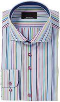 Baumler Stripe Classic Fit Long Sleeve Shirt