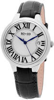 SO & CO Ny Women'S Madison Leather Dress Quartz Watch J154P71