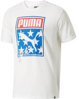 Puma Stars And Stripes Sneaker Tongue Logo T-Shirt