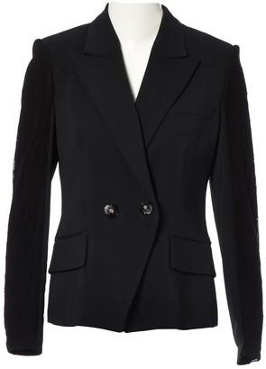 Versace Black Viscose Jackets