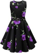 Black Butterfly Clothing Black Butterfly Kids 'Audrey' Vintage Infinity 50's Dress (, 13-14 YRS)