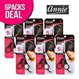 "Annie 5 1/2"" Stainless Hair Shear (6-Pack)"