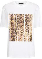 Alexander Wang Leopard Barcode T-Shirt