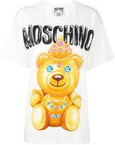 Moschino crowned bear T-shirt - women - Cotton - XXS