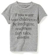 Peek Einstein Fairy Tales Quote T-Shirt (Baby)