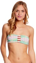 Body Glove Swimwear Devoted Jane Reversible Bandeau Bikini Top 8125724