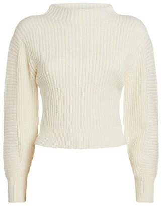 Claudie Pierlot Ribbed Sweater