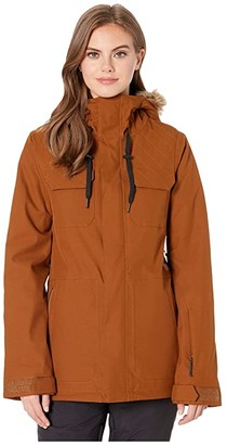 Volcom Snow Shadow Insulated Jacket (Copper) Women's Clothing