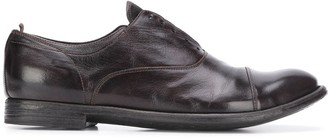 Officine Creative Distressed-Effect Derby Shoes