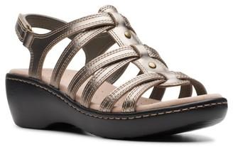 Clarks Delana Curve Wedge Sandal