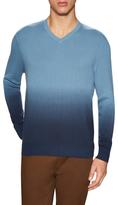 Vince Camuto Cotton V-Neck Sweater