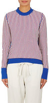 Raquel Allegra Women's Striped Wool-Cashmere Sweater