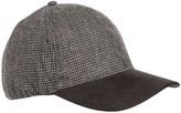 Weatherproof Microsuede Visor Baseball Cap - 2-Tone, Wool Blend (For Men)