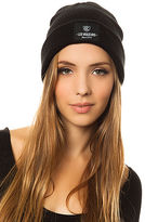 Crooks & Castles Crooks and Castles The Les Voleurs Knit Beanie in Black