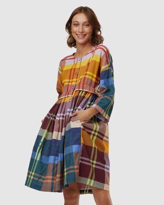 gorman Tartan Trip Cord Dress