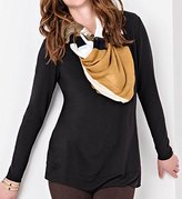 Lysse Women's Scoop Drape Top
