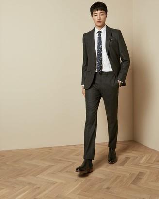 Ted Baker Slim Fit Wool Trousers
