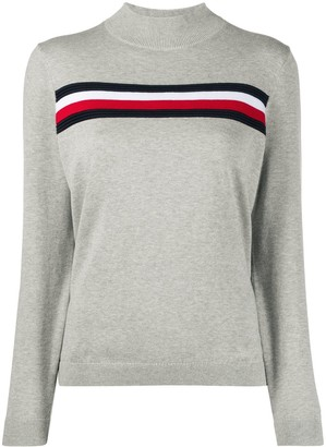 Tommy Hilfiger Stripe Trim Jumper