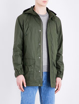 A.P.C. Guillaume cotton-blend parka jacket