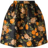 MSGM floral jacquard skirt