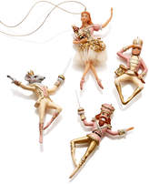 Holiday Lane Set Of 4 Nutcracker Ornaments, Created for Macy's