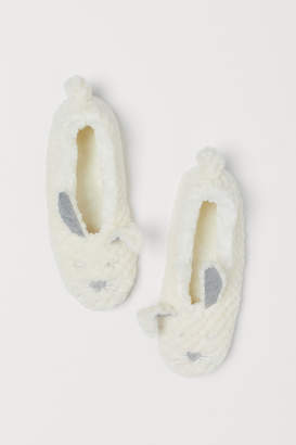 H&M Soft pile slippers