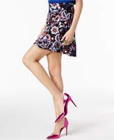INC International Concepts I.n.c. Petite Printed Ruffled Skirt, Created for Macy's