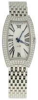 Bedat & Co No.3 Stainless Steel Diamond Bezel 25mm x 27mm Womens Watch