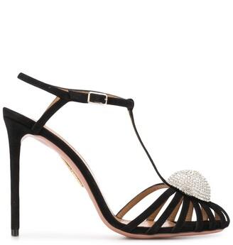Aquazzura Sublime 105mm sandals
