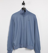 Thumbnail for your product : Collusion Unisex track jacket in poly tricot in dusty blue co