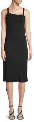 Akris Asymmetrical Drape Dress