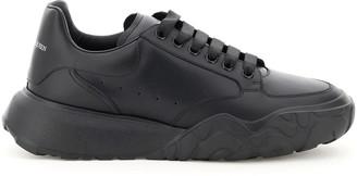 Alexander McQueen Leather Court Sneakers