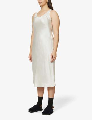 Max Mara Talete crepe midi dress