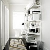 Elfa White décor freestanding Home Office