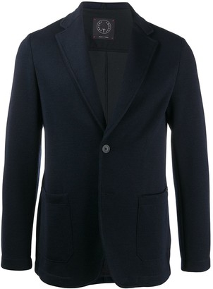 Tonello Single-Breasted Patch Pocket Blazer