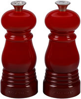 Le Creuset Petite Salt & Pepper Mill Set, Cherry